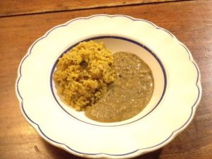 dahl-rice