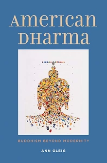 Book Cover American dharma by Ann Glieg
